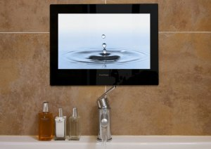 We also install Tv's & Music systems for bathrooms