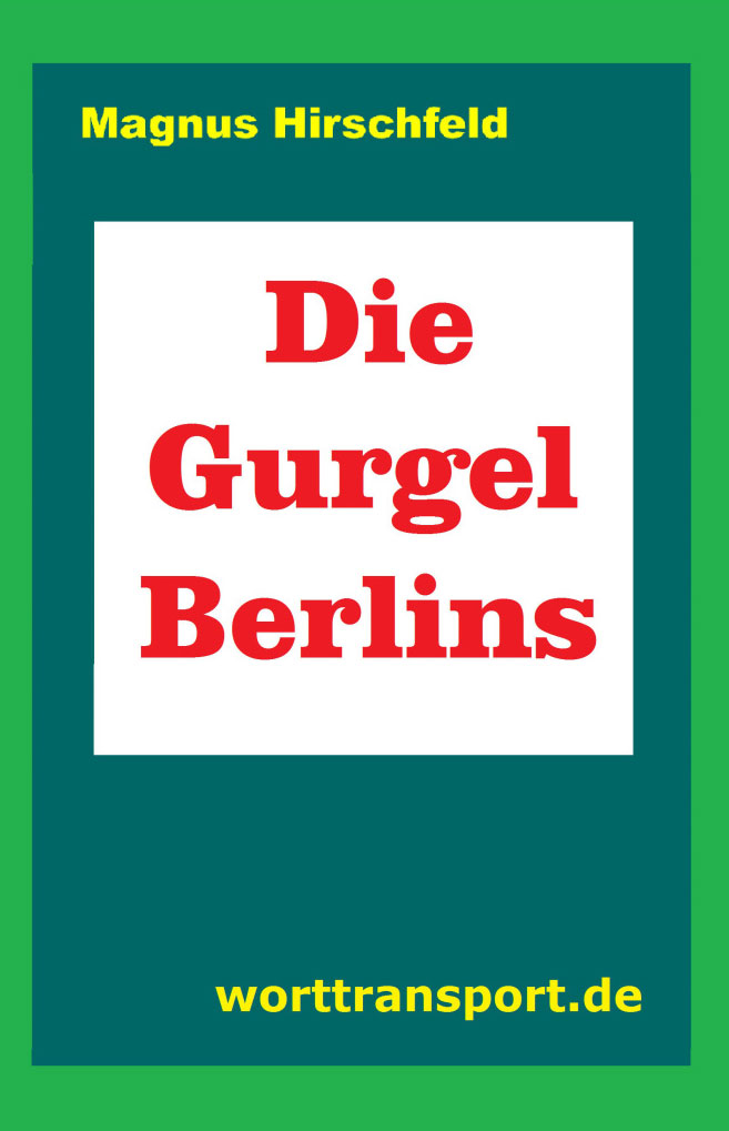 Buchcover »Die Gurgel Berlins«
