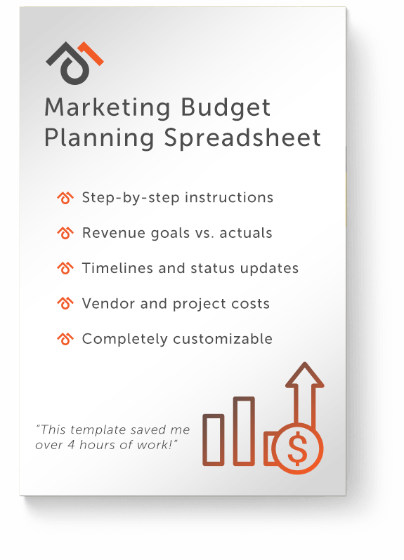 J5 Marketing Excel Marketing Budget Planning Template | J5 Marketing