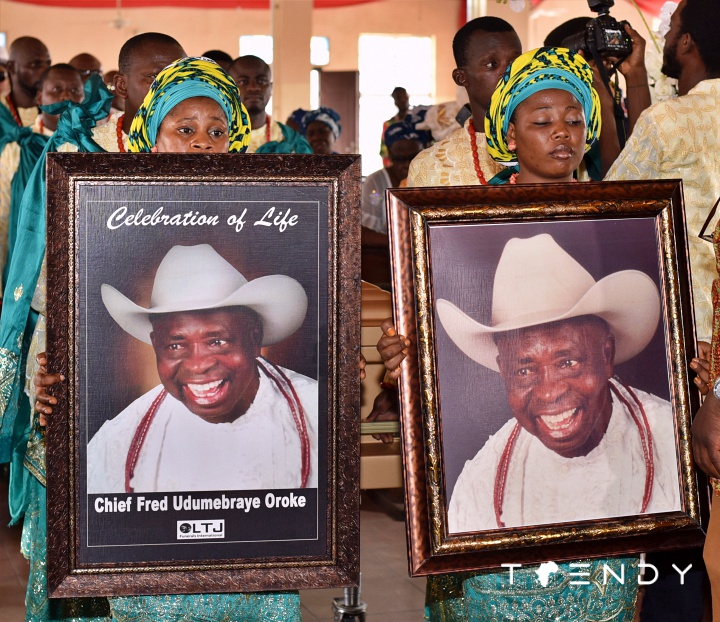 Chief Oroke funeral, Warri