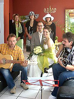 Gruppe Dixiewelt mit LifeMusik auf dem Geraer Markt  Gera