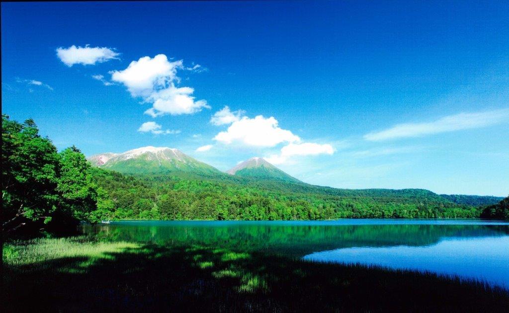 [足寄町]5色の湖オンネトー