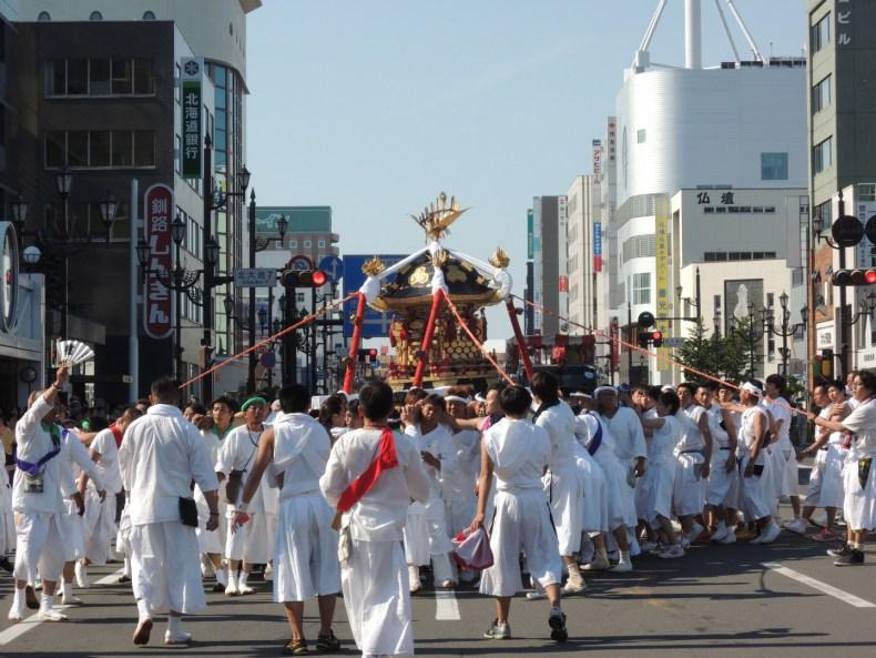 厳島神社例大祭-くしろ祭-