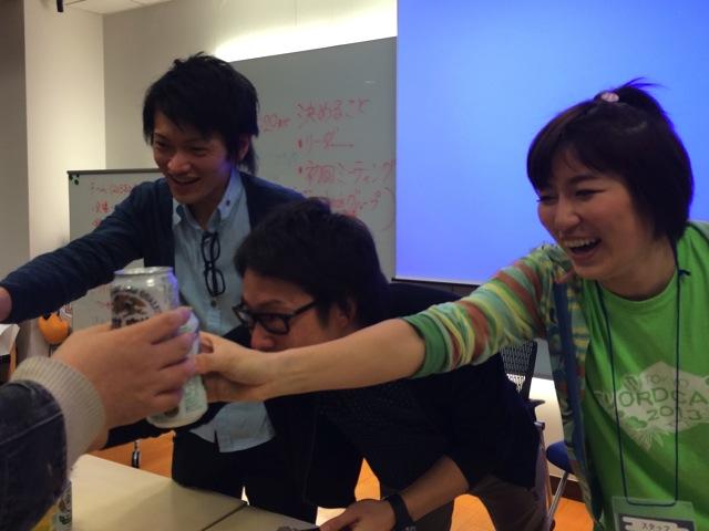WordCamp Tokyo 2014 委員長トリオ