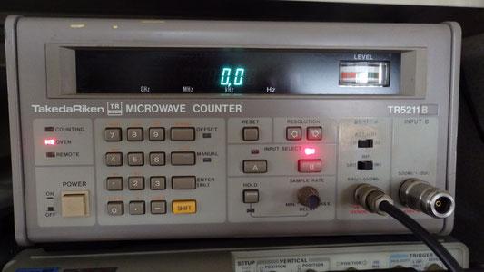 マイクロ波カウンター