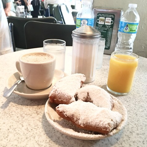 Beignets & Cafe au Lait