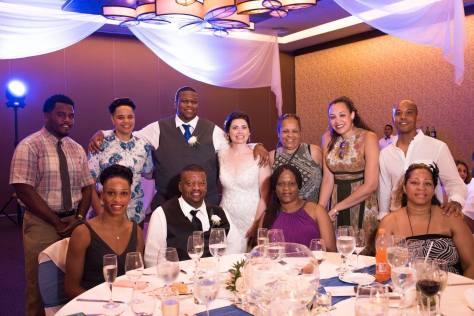 wedding reception table pic