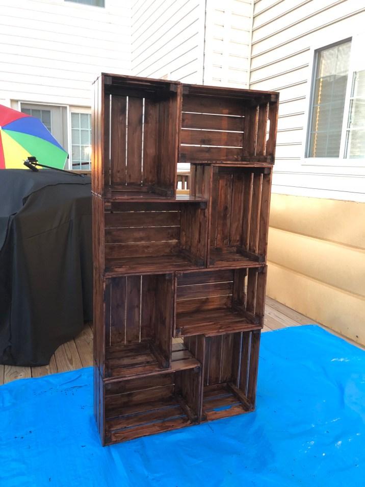 milk crate shelf2