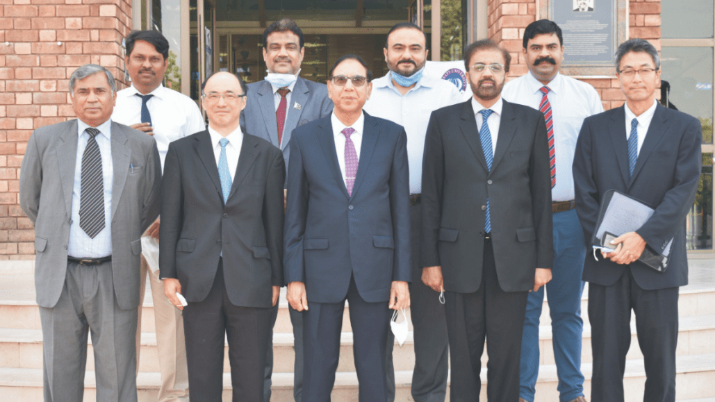Cooperation between Japan and Pakistan historically significant, Rector COMSATS University Islamabad
