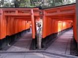 Fushimi Inari. Crossroads.