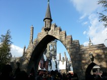 Entrance to the Wizarding World of Harry Potter