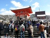 On the way to Kiyomizu-dera
