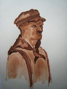 Klepperman 14 - sepia, 25 x 20 cm