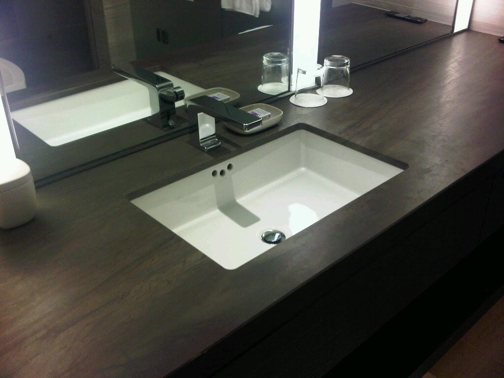 Bathroom Vanity Top With Sink Wood Vanity With All Types Of Sinks