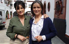 Las hermanas Dora y Nora interpretadas por Helena Rojo y Nuria Bages respectivamente