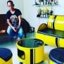 Kreatif Warga Cirebon Ini Sulap Limbah Drum Bekas Jadi