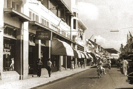 Jalan Braga Tempo Dulu