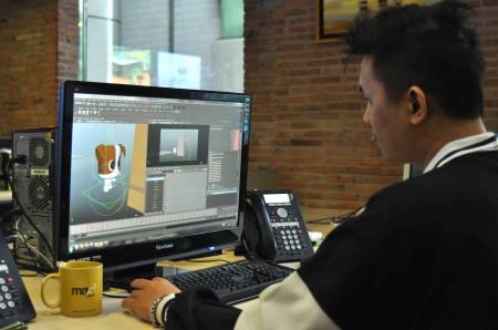Tim Biznet tengah memproduksi tayangan animasi lokal pertama di Indonesia. Tayangan tersebut akan muncul di max3 kids, saluran hiburan khusus anak di jaringan TV kabel miliknya. Menariknya, produk hiburan ini dihasilkan oleh tenaga kreatif muda dari Biznet sendiri (istimewa)