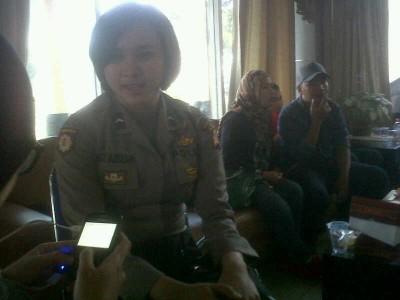 Bripda Lina Nur Azizah, mantan Mojang-Jajaka Kabupaten Bandung yang mengabdikan dirinya sebagai polisi. (JABARTODAY/AVILA DWIPUTRA)
