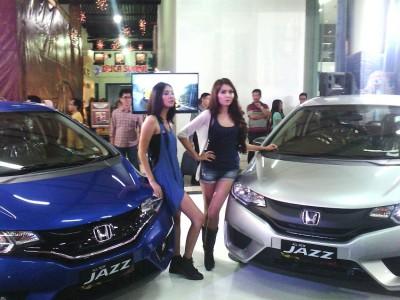 All New Honda Jazz diluncurkan untuk masyarakat Bandung dan sekitarnya di Paris Van Java Mall, Senin (30/6). (JABARTODAY/AVILA DWIPUTRA)