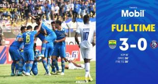 Persib Bandung vs Arema FC 3-0 Video Gol & Highlights