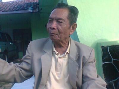 Djaja Mihardja, tokoh masyarakat penggagas pembangunan jembatan Jamuresi yang menghubungkan Sukajaya-Ciamis dan Selajambe-Kuningan (JABARTODAY.COM/FZF)