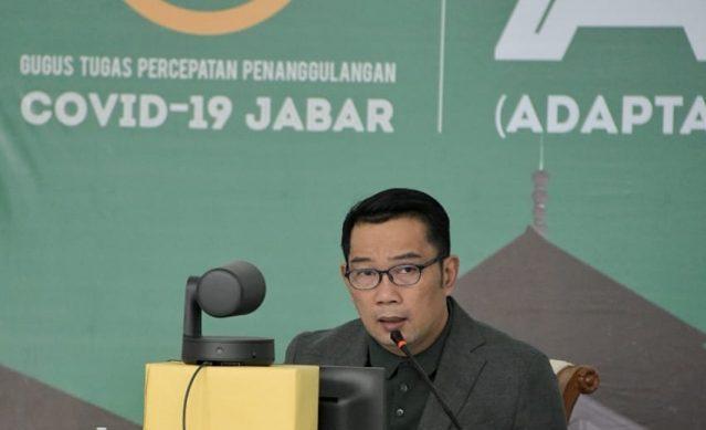Gubernur Jabar GTTP Covid-19 Ridwan Kamil