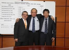 Tiga calon Rektor UPI periode 2015-2020 yang akan bersaing di MWA. Dari kiri ke kana: Prof. Aminudin, Prof. Furqon & Prof. Asep Kadarohman (upi.edu)