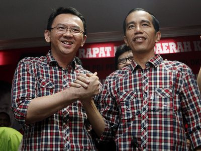 Joko Widodo dan Basuki Cahya Purnama (Ahok)