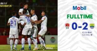 Kalteng Putra vs Persib Bandung 0-2 Video Gol Highlights