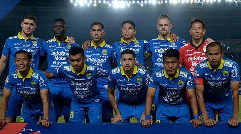 Line-up Persib Putaran II Liga 1 2019