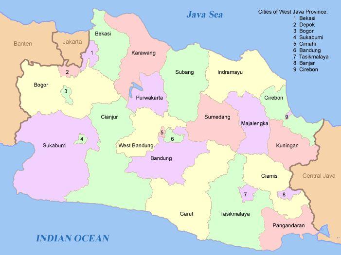 Wilayah Provinsi Jawa Barat