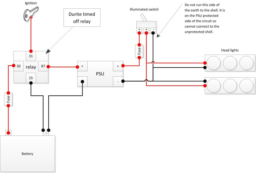 medium resolution of durite timed off relay diagram