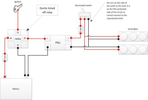 small resolution of durite timed off relay diagram