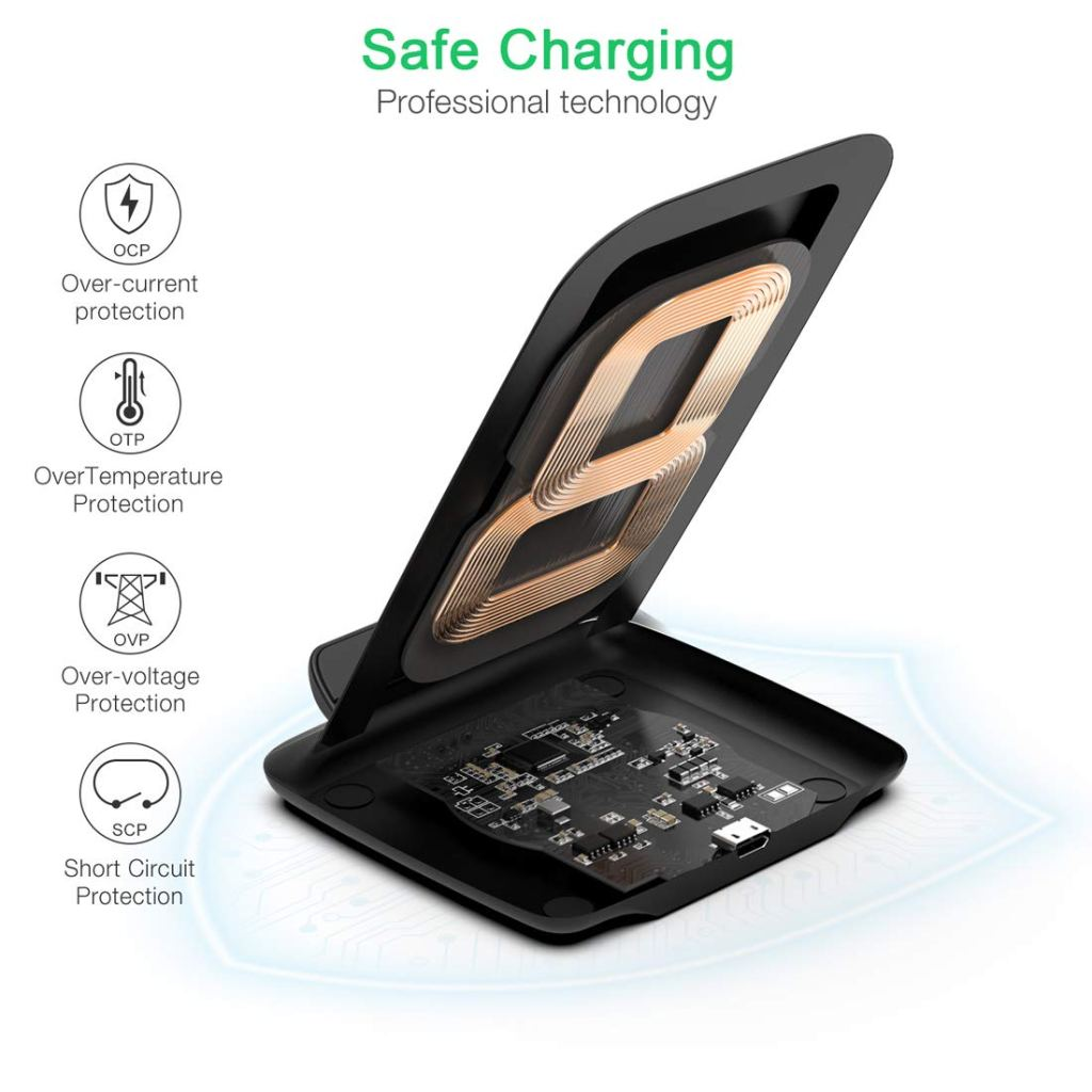 CHOETECH 7.5W Fast Wireless Charger Review