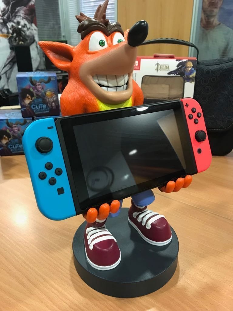 Crash Bandicoot XL Switch Stand Review
