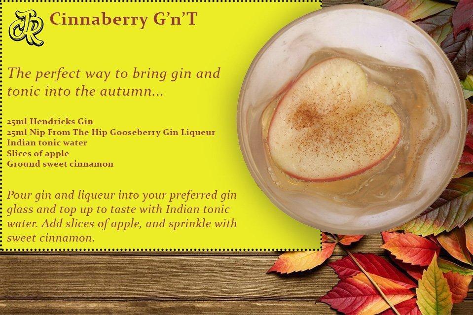 NFTH Gooseberry Liqueur Cocktail