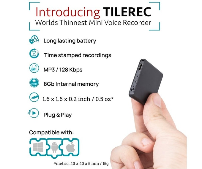 TileRec Voice-Activated Recorder Review