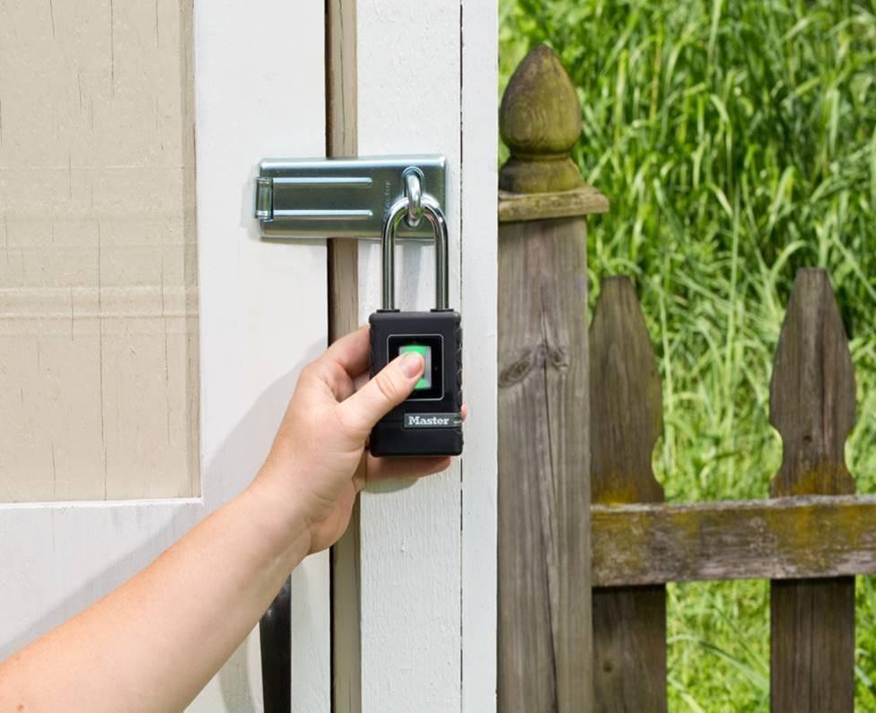 Master Lock unveils innovative Biometric Padlock