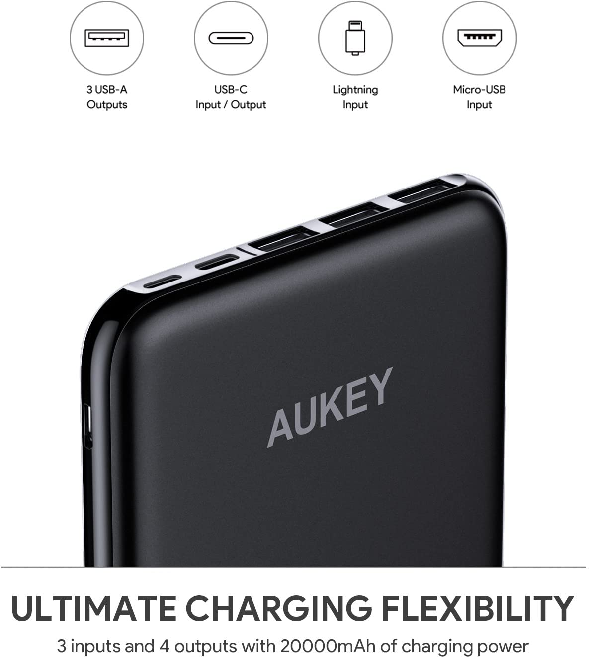 AUKEY 20000mAh USB-C Power Bank Review