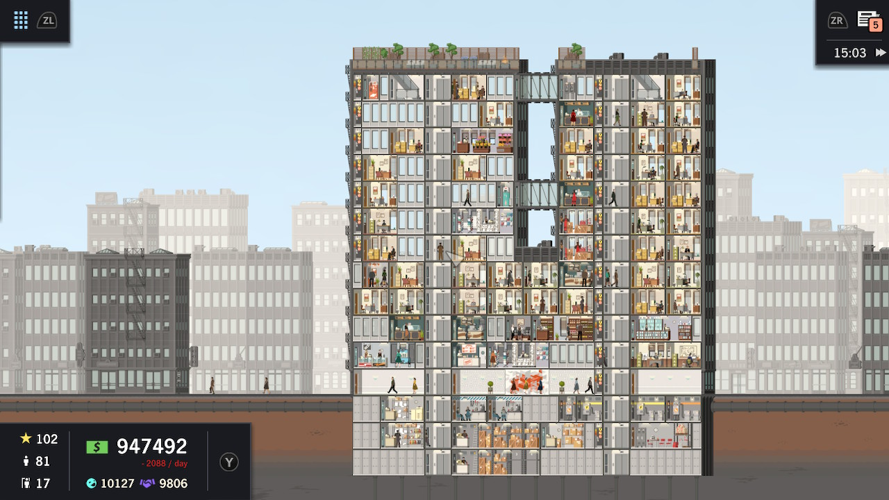 Project Highrise: Architect's Edition Nintendo Switch Review