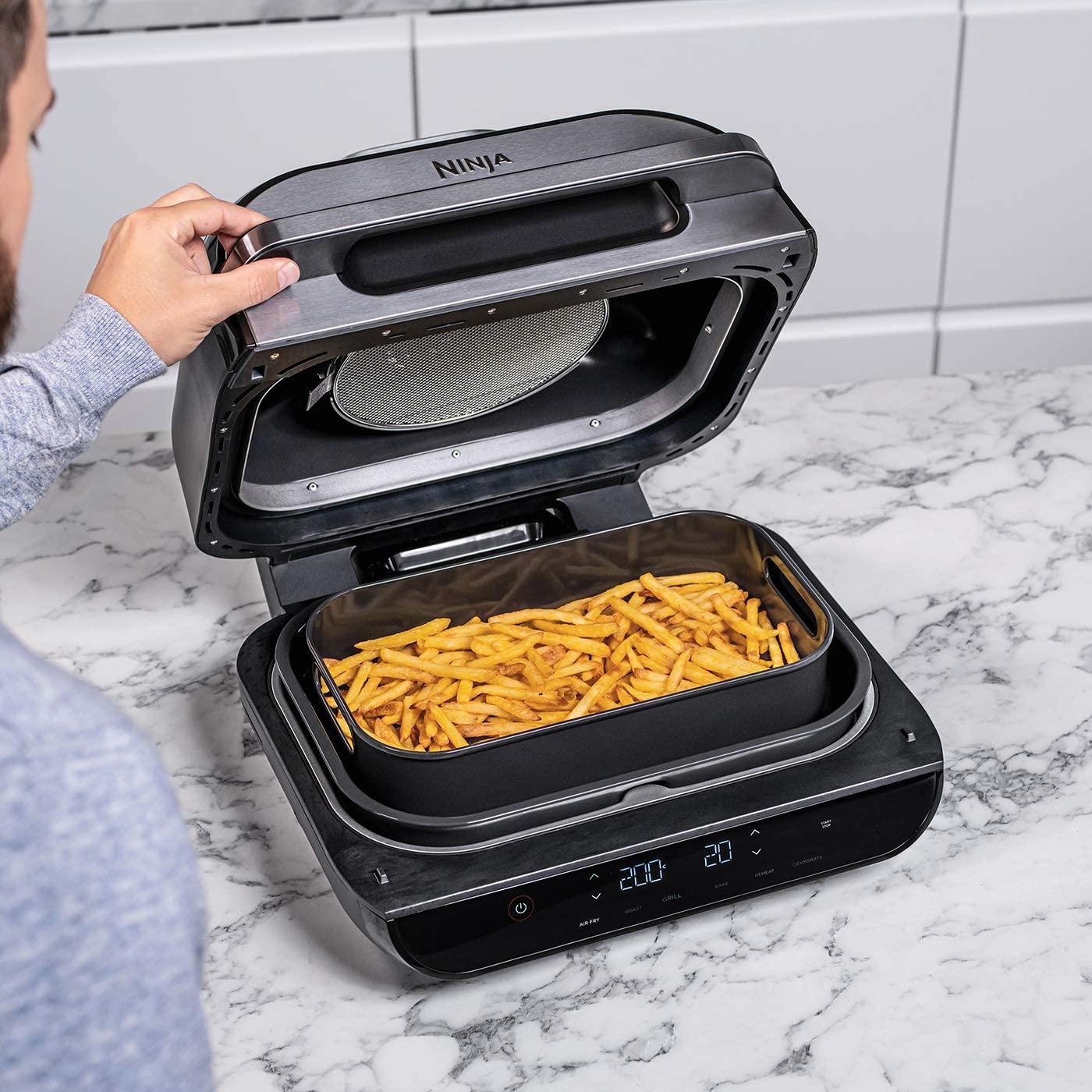 Ninja Foodi MAX Health Grill & Air Fryer Review