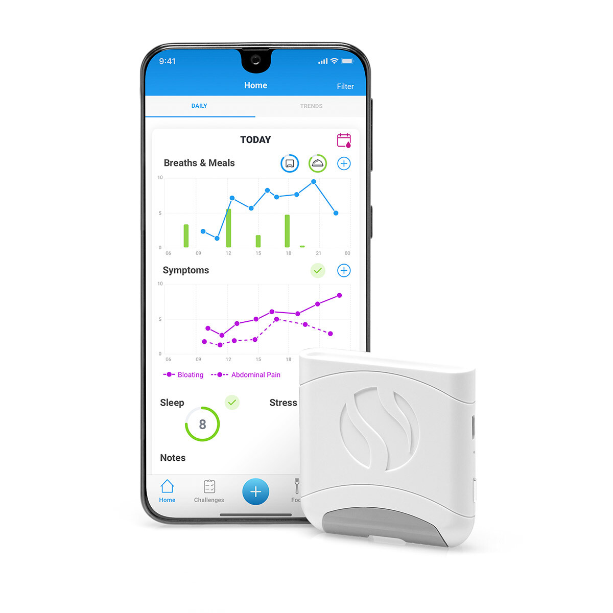Track your digestion with the FoodMarble AIRE Review