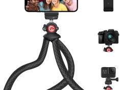 GooFoto Phone Tripod Flexible Universal Clip Reivew