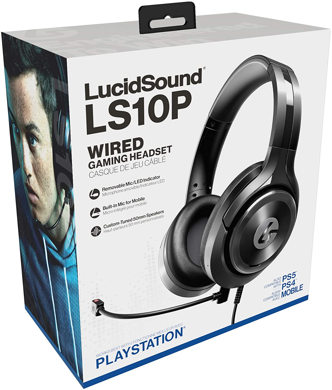 LucidSound LS10X LS10P Wired Surround Sound Gaming Headset Review