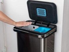 Addis 50 Litre Recycling Sensor Tower Bin