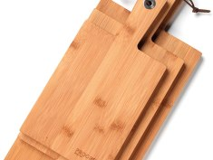 PROGRESS 3 Piece Bamboo Paddle Chopping Board Set Review