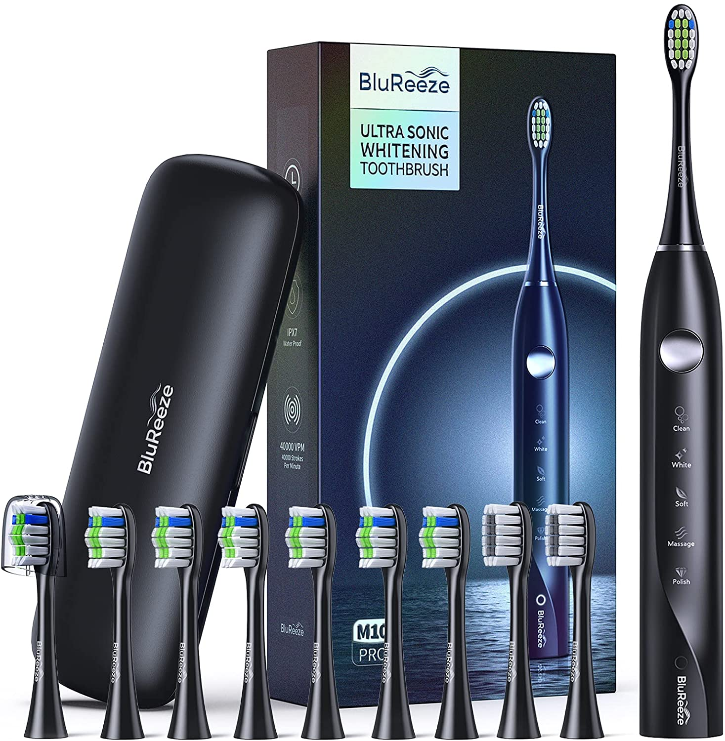 BluReeze M10 Pro Electric Toothbrush for Adults Review