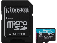 Kingston Canvas Go! Plus 128GB micro SD Card