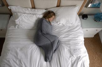 Sleep Pod Adult Swaddle by Hug Sleep Review